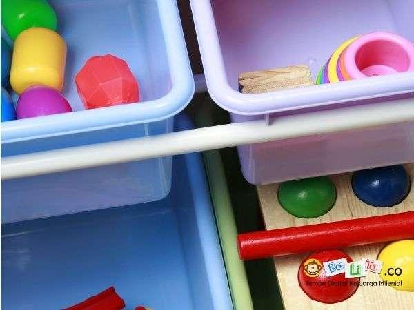Lima Cara Merapikan Mainan Kiddos