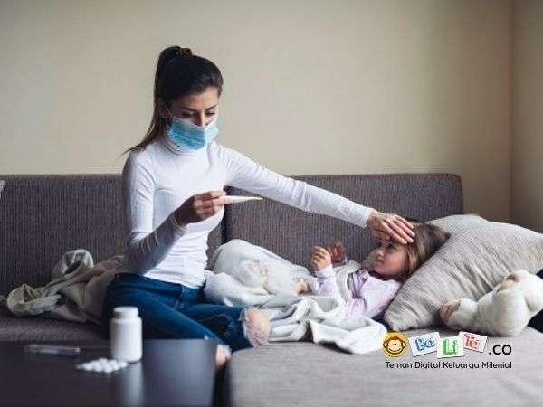 Anak Sakit di Masa Pandemi? Yuk laukan Ini Mom & Dad