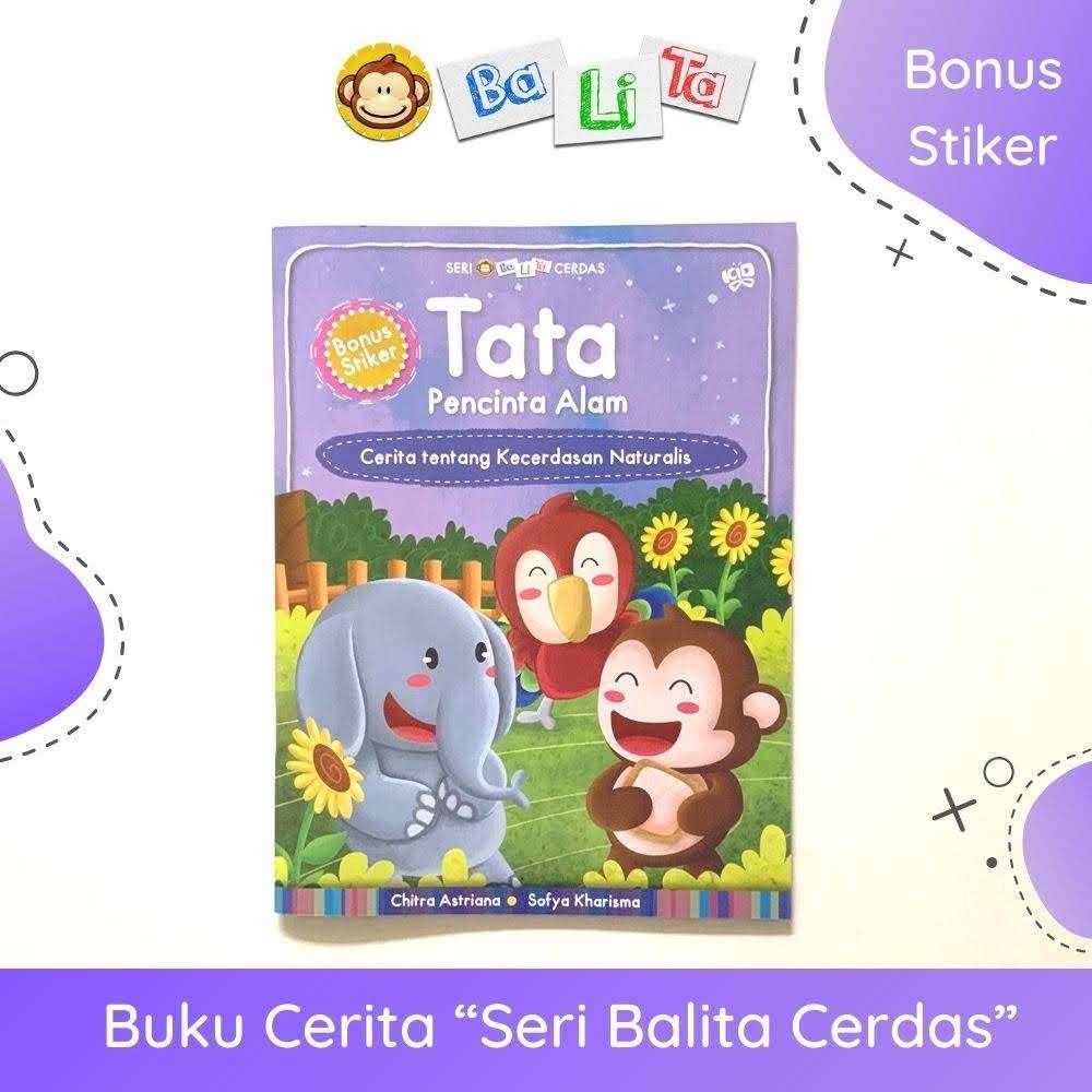 "Buku Balita Cerdas - ""Tata Pecinta Alam"""